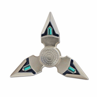 Спиннер (Hand Spinner) Destroyer серебристый
